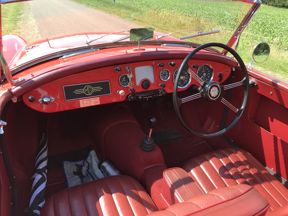 1956 MGA RHD Private in the Netherlands € 29.900 For Sale (picture 5 of 5)