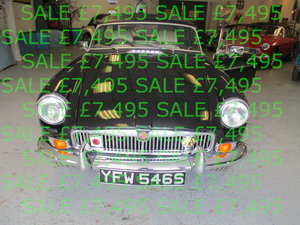 1978 MG B Roadter - Chrome Bumpers For Sale