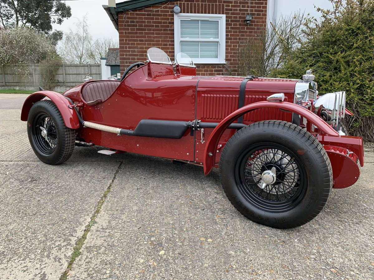1938 MG TA Special Alloy Bodied Boat Tail  For Sale (picture 1 of 6)