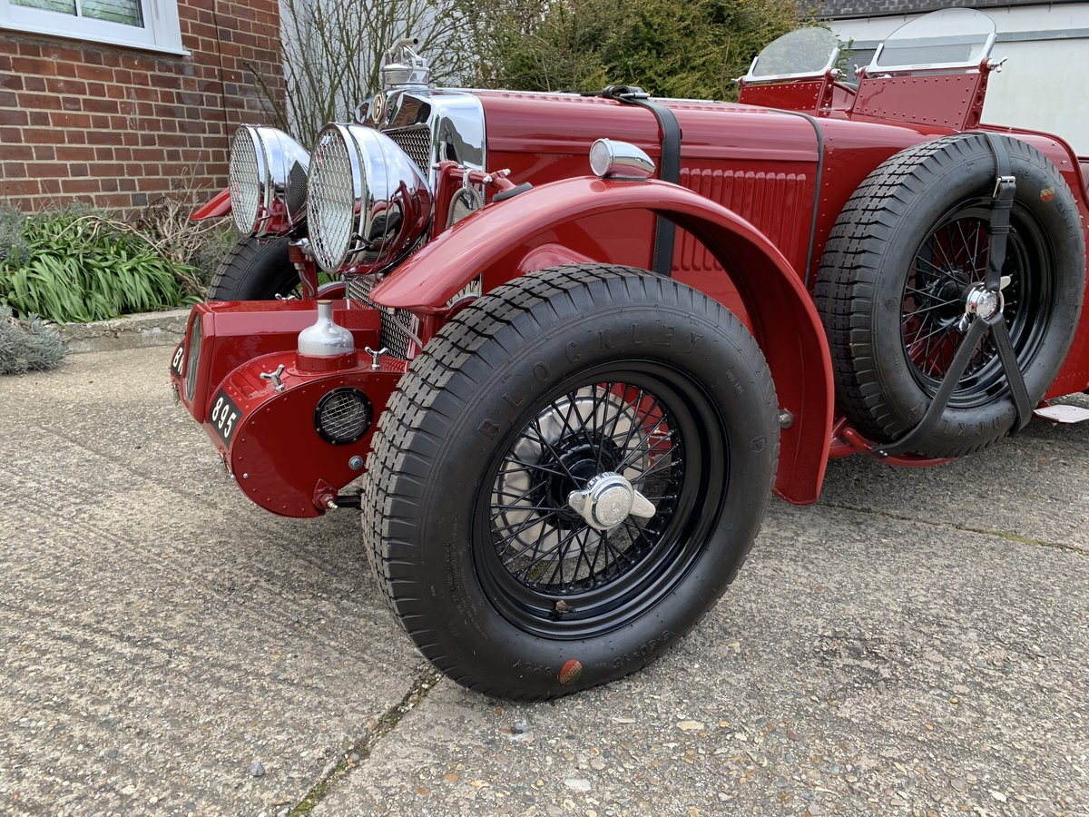 1938 MG TA Special Alloy Bodied Boat Tail  For Sale (picture 5 of 6)