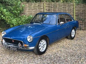 1972 MG BGT in Teal Blue For Sale