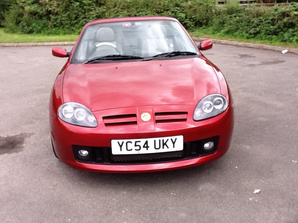 2004 Beautiful MG TF LE 'Spark'  SOLD (picture 1 of 6)