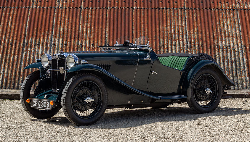 1935 MG PA (SUPERCHARGED) For Sale (picture 1 of 6)