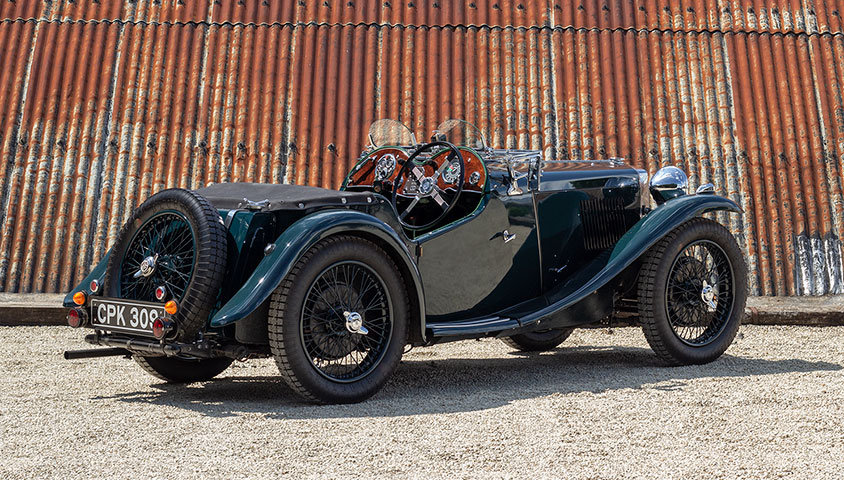 1935 MG PA (SUPERCHARGED) For Sale (picture 3 of 6)