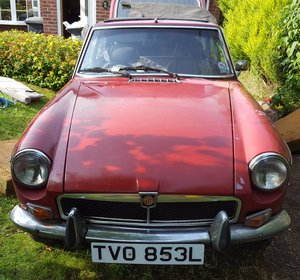 1972 MGB-GT  For Sale