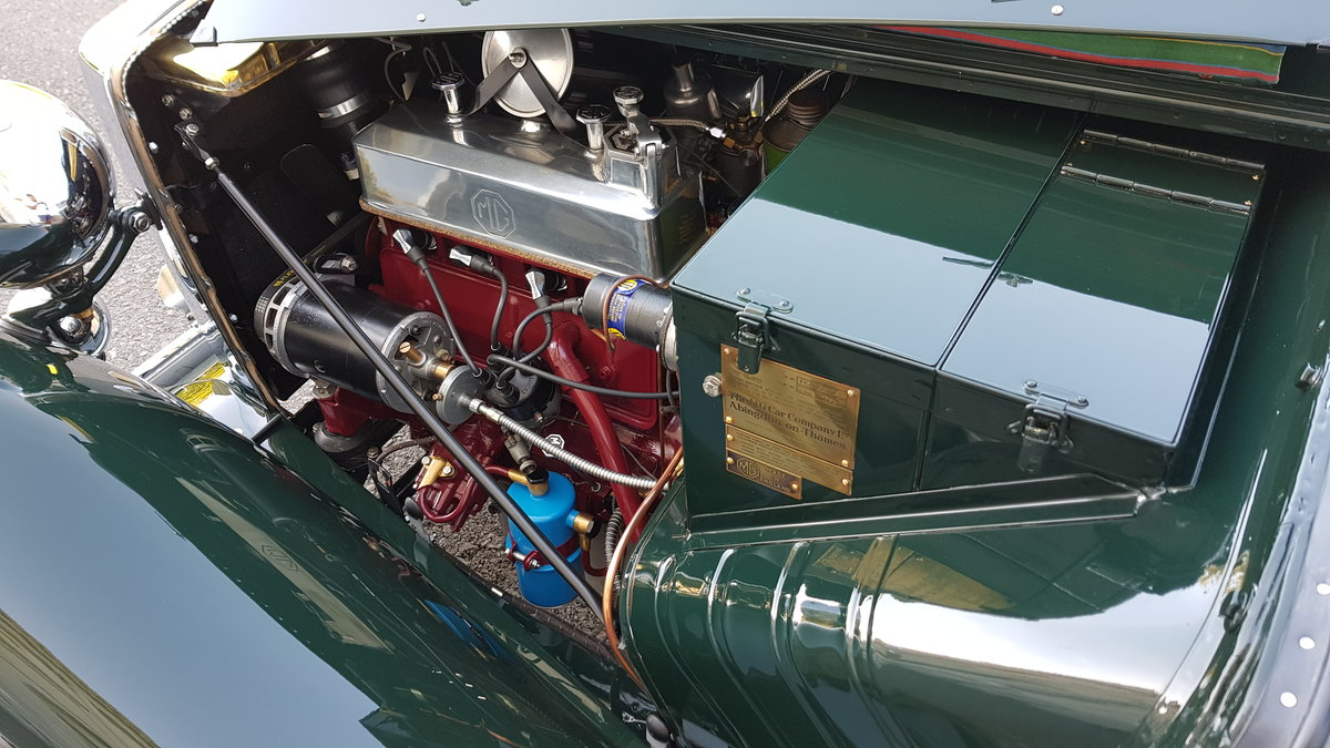 1948 MG TC IN BRITISH RACING GREEN ( CONCOURS ) For Sale (picture 5 of 6)