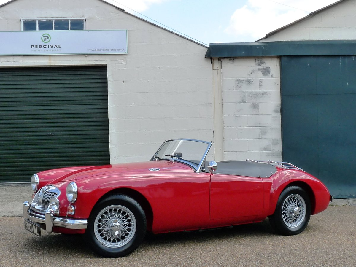 1962 MGA Roadster Mk11, restored, SOLD SOLD (picture 1 of 6)