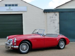1962 MGA Roadster Mk11, restored, Sold
