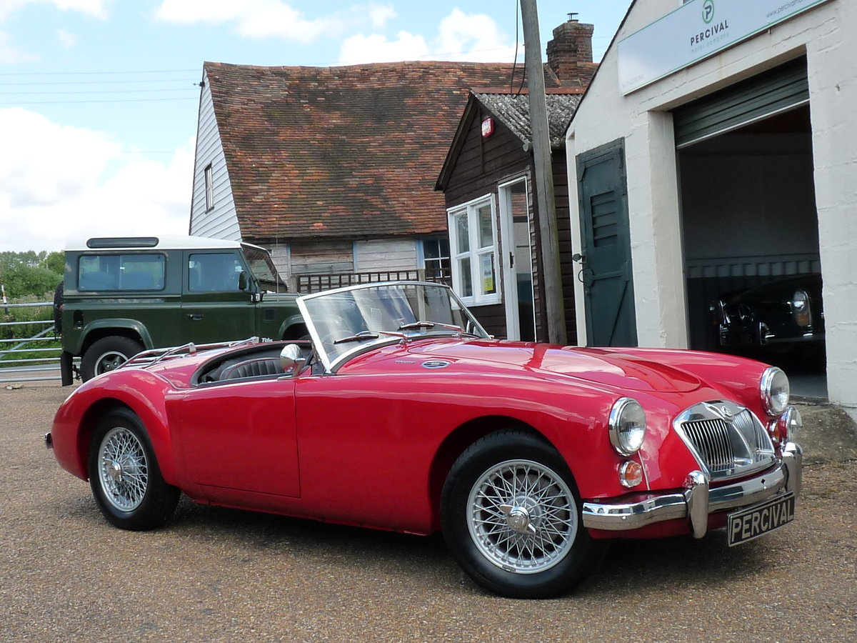 1962 MGA Roadster Mk11, restored, SOLD SOLD (picture 4 of 6)