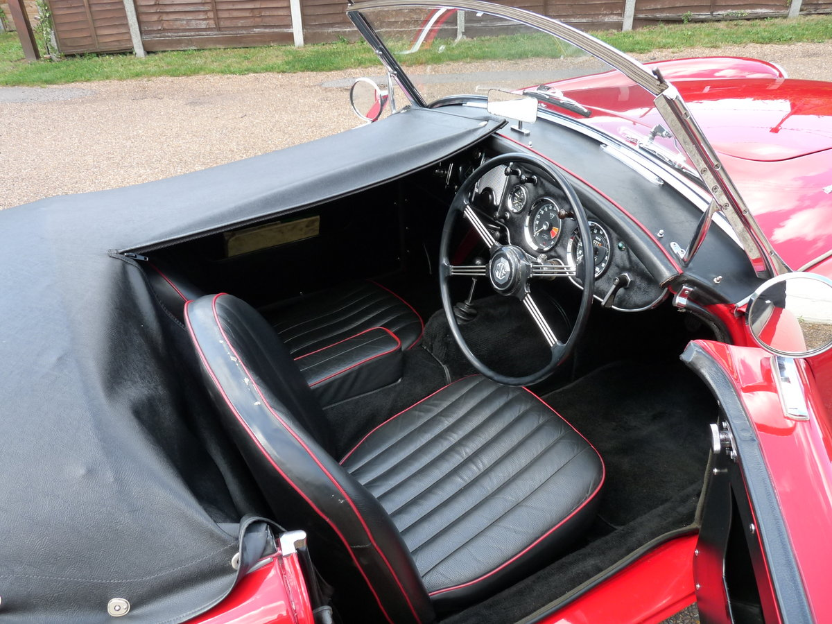 1962 MGA Roadster Mk11, restored, SOLD SOLD (picture 6 of 6)
