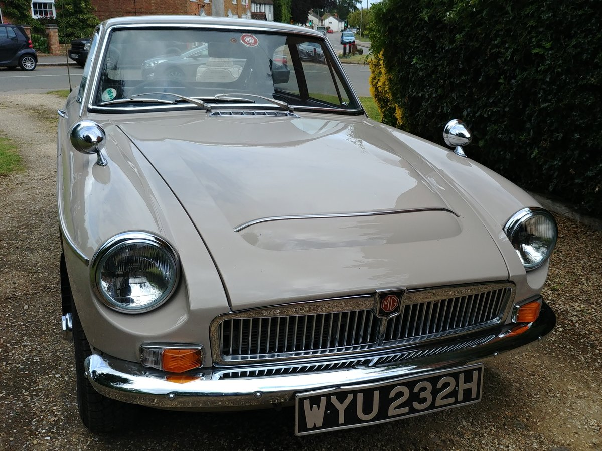 1969 MGC GT Automatic For Sale (picture 1 of 6)