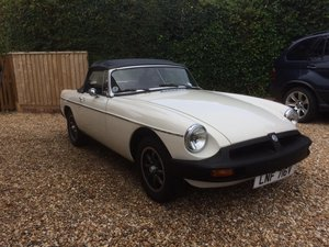1979 Mgb roadster. Leather interior. Boot rack For Sale