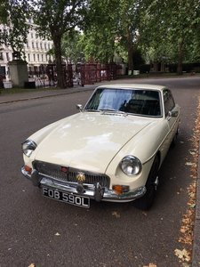 1972 British White MGBGT For Sale For Sale