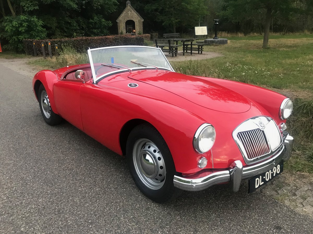 1956 MGA RHD Private in the Netherlands € 29.900 For Sale (picture 1 of 5)