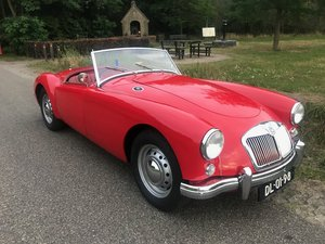 1956 MGA RHD Private in the Netherlands € 29.900 For Sale