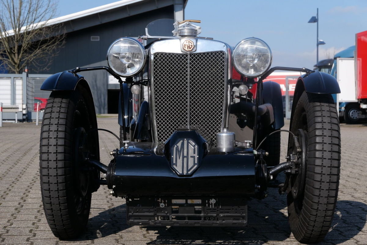 1939 MG TA Q Type Speciale - Kompressor - top restored For Sale (picture 2 of 6)
