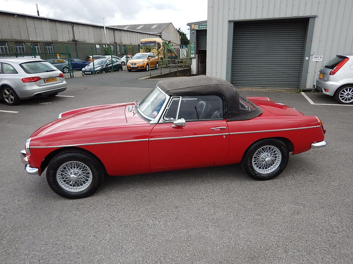1965 MGB Roadster ~ Heritage Shell ~ Leather ~  SOLD (picture 1 of 6)
