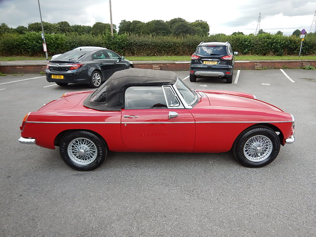 1965 MGB Roadster ~ Heritage Shell ~ Leather ~  SOLD (picture 3 of 6)
