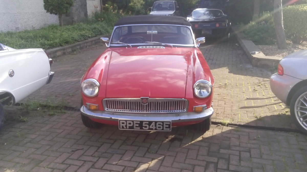 1967 MGB roadster For Sale | Car And Classic
