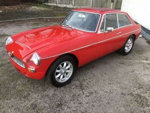 1969 MG C GT To rally and endurance specifications. For Sale (picture 1 of 6)
