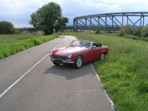 1972 MG Midget Chrome Bumper For Sale