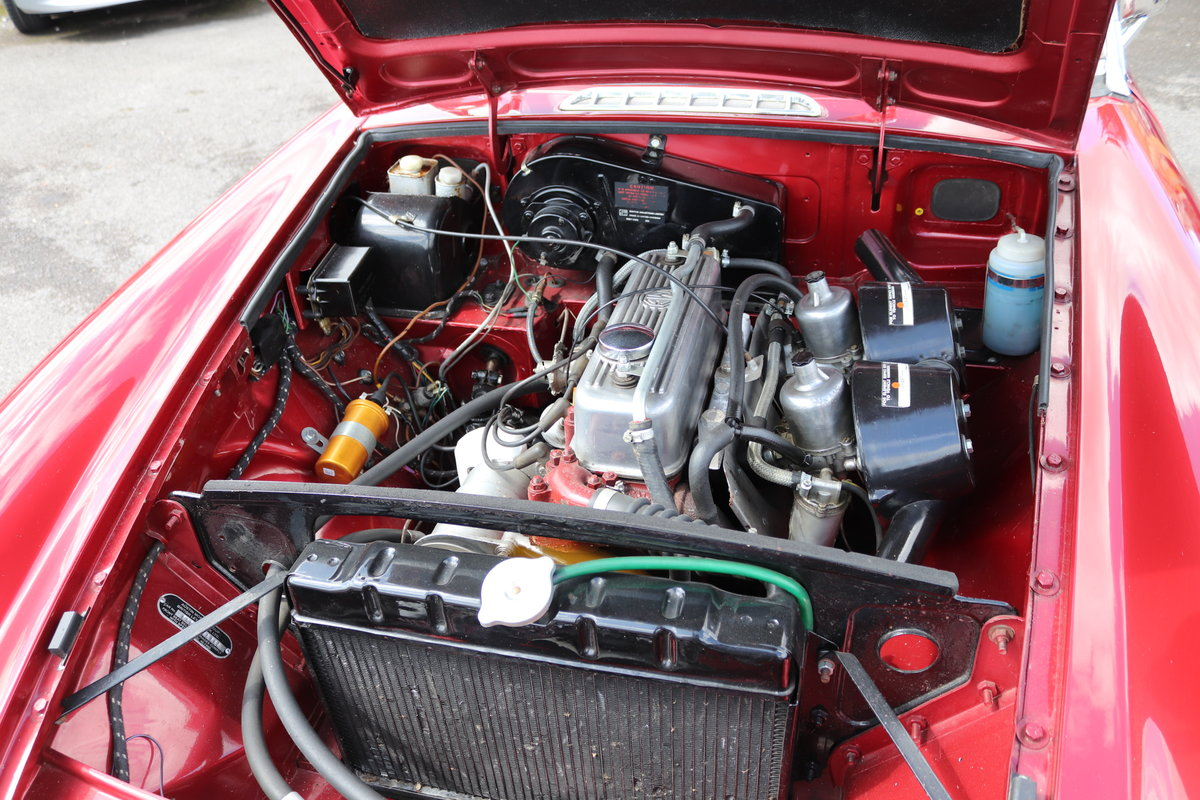 1965 MGB Roadster, Bare shell rebuild in Nightfire Red SOLD (picture 3 of 6)