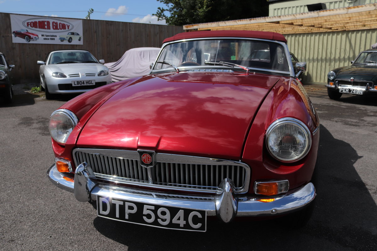 1965 MGB Roadster, Bare shell rebuild in Nightfire Red SOLD (picture 5 of 6)