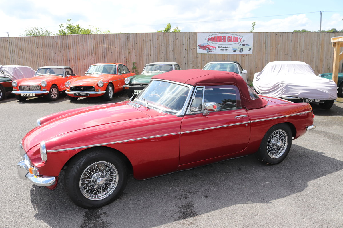 1965 MGB Roadster, Bare shell rebuild in Nightfire Red SOLD (picture 6 of 6)