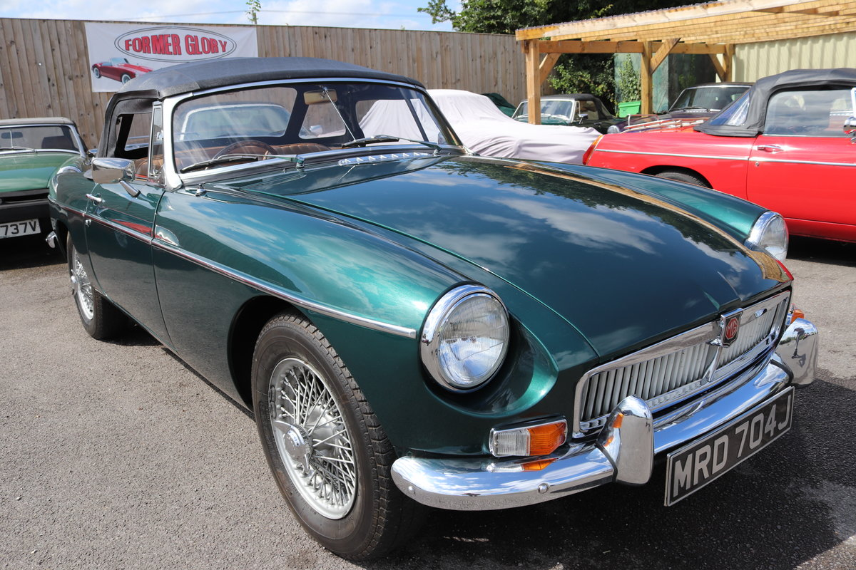 1970 MGB HERITAGE SHELL to the Highest standard SOLD (picture 1 of 6)