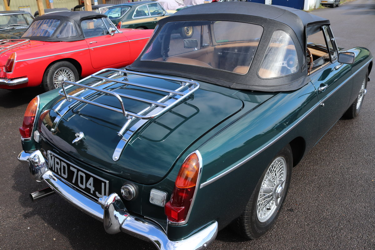 1970 MGB HERITAGE SHELL to the Highest standard SOLD (picture 5 of 6)