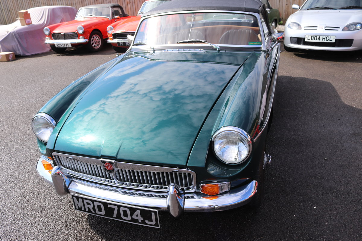 1970 MGB HERITAGE SHELL to the Highest standard SOLD (picture 6 of 6)