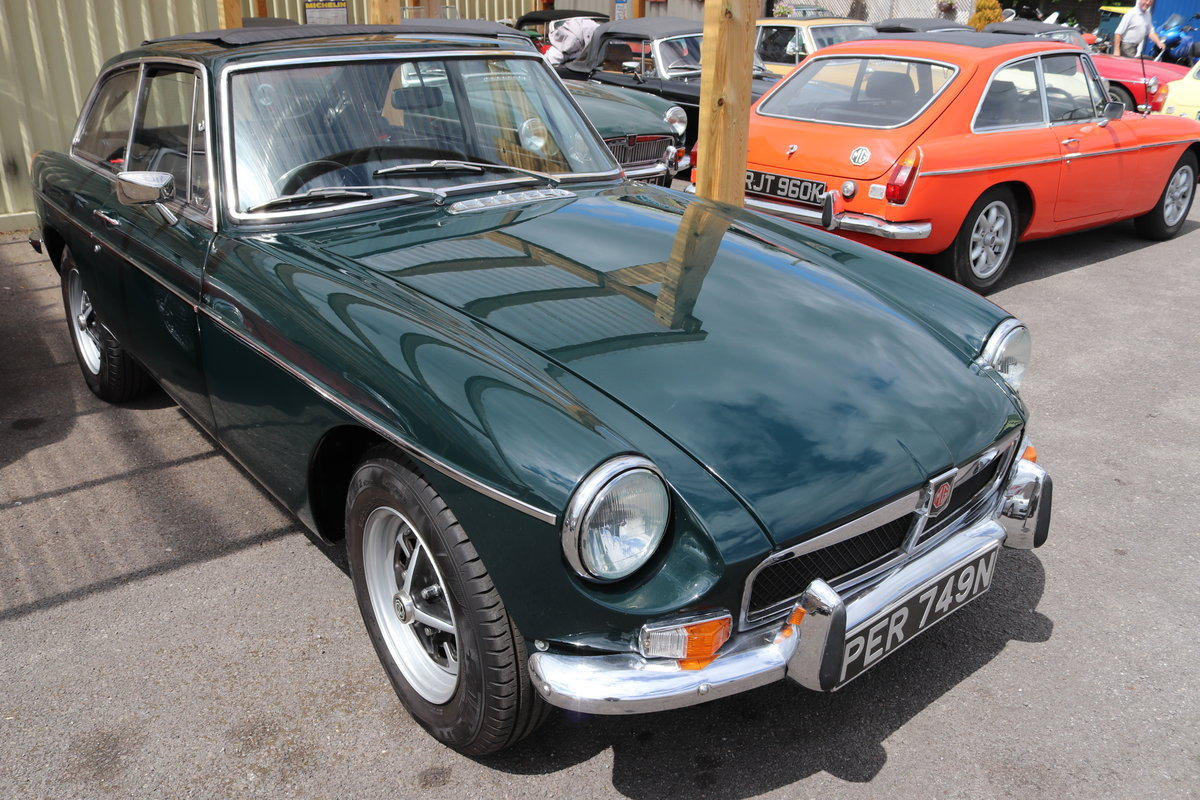 1974 MGB GT, Last of the chrome bumpers. For Sale (picture 1 of 3)
