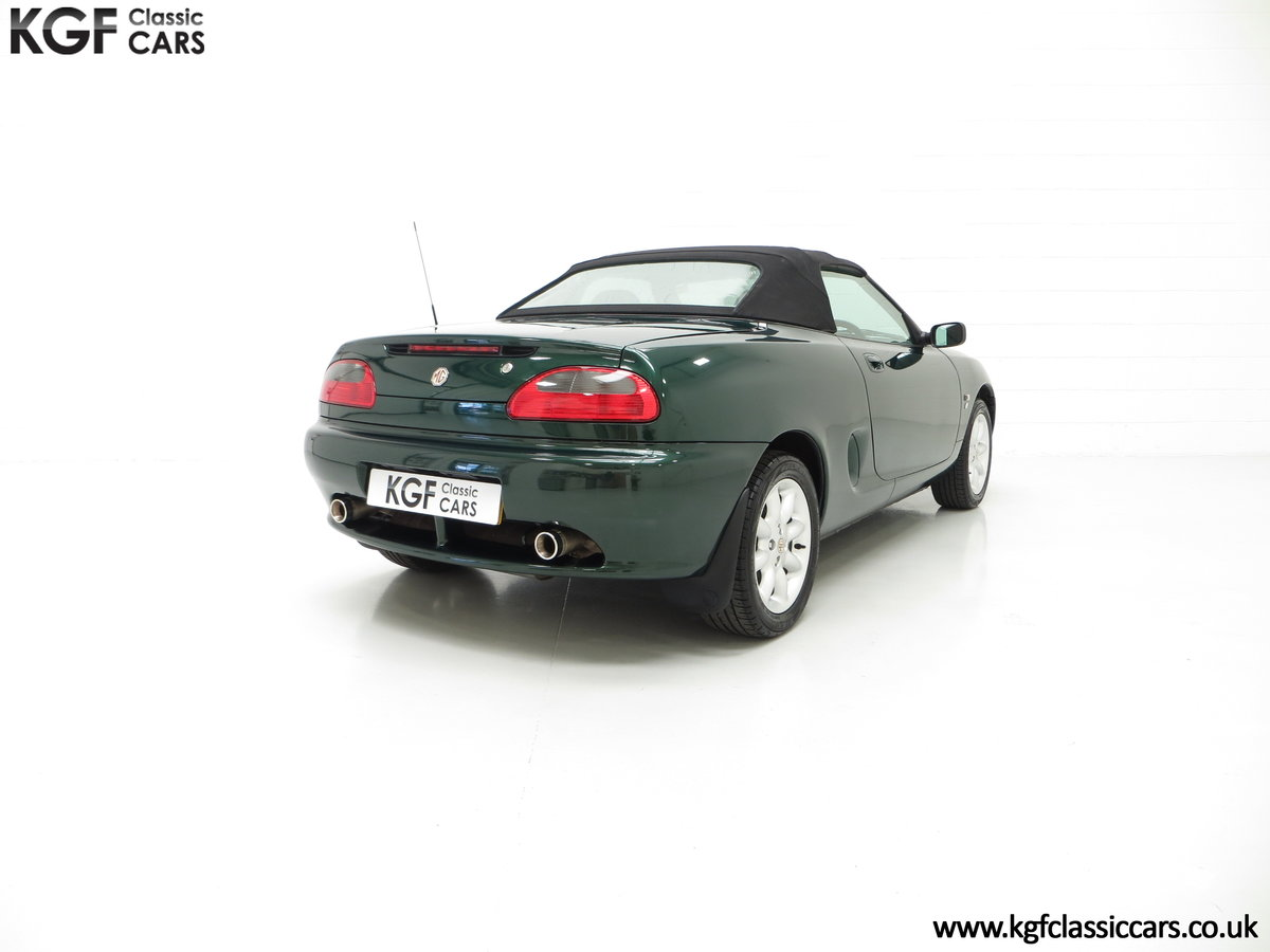 2001 A Stunning MGF 1.8i with 'MG' Cherished Registration For Sale (picture 5 of 6)