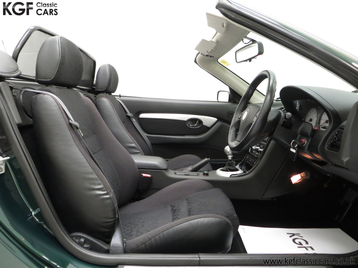 2001 A Stunning MGF 1.8i with 'MG' Cherished Registration SOLD (picture 6 of 6)