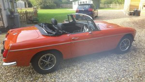 1972 MGB Chrome Bumper Roadster 1973 For Sale