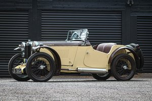 1934  MG PA Supercharged. Ex Jack Bastock 'Cream Cracker 2'
