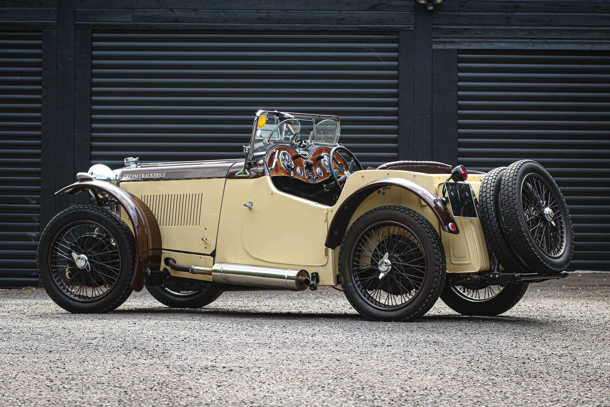1934 MG PA Supercharged. Ex Jack Bastock 'Cream Cracker 2' For Sale (picture 2 of 6)