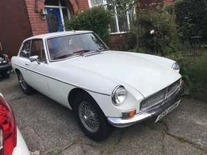 1974 MG BGT Chrome Bumper Wire wheels For Sale