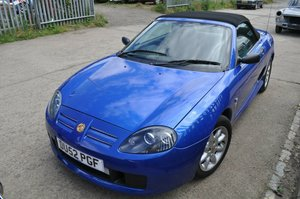 2002 MG TF TROPHY BLUE MOT 43000 MILES VERY GOOD CONDITION SOLD