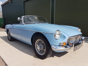 1963 MGB Roadster early pull handle model SOLD