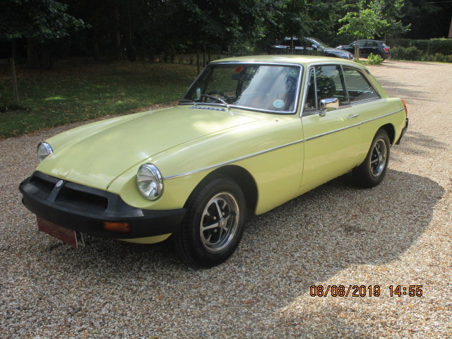 1977 MGB GT OVERDRIVE SOLD (picture 1 of 6)