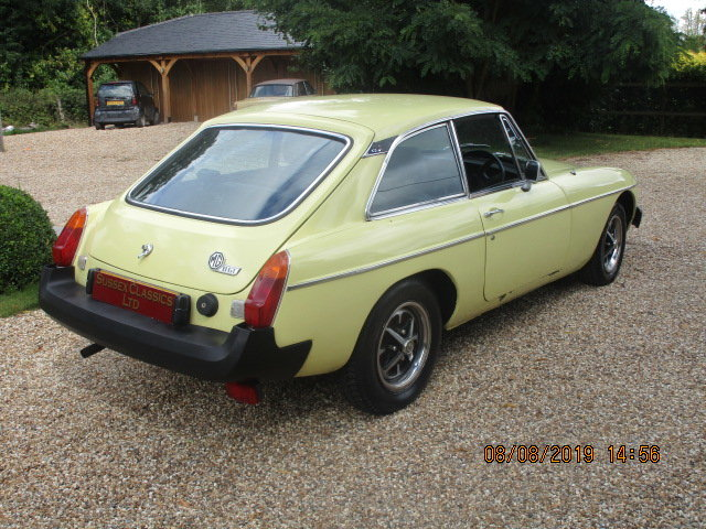 1977 MGB GT OVERDRIVE SOLD (picture 2 of 6)