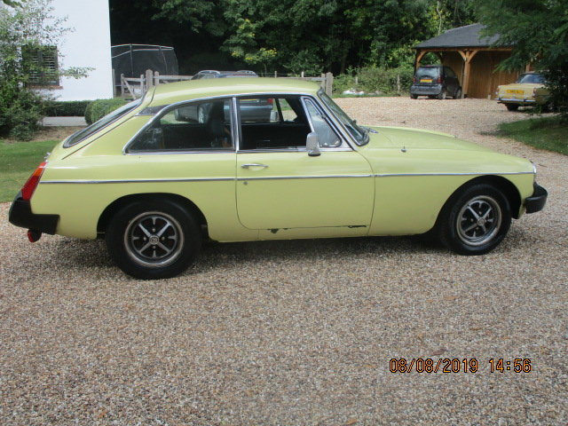 1977 MGB GT OVERDRIVE SOLD (picture 4 of 6)