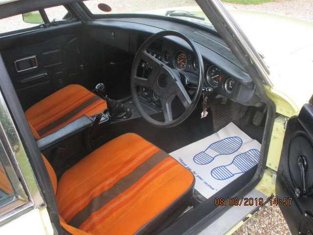 1977 MGB GT OVERDRIVE SOLD (picture 5 of 6)