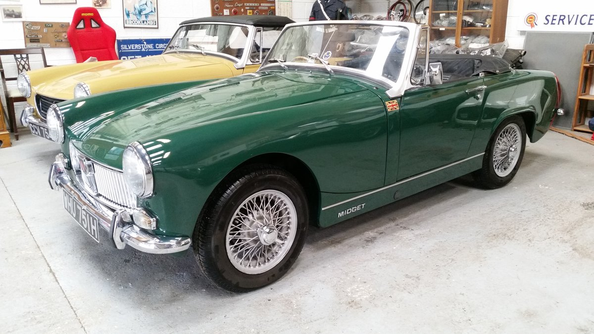 1967 Small selection of properly restored MG Midgets available. For Sale (picture 5 of 6)