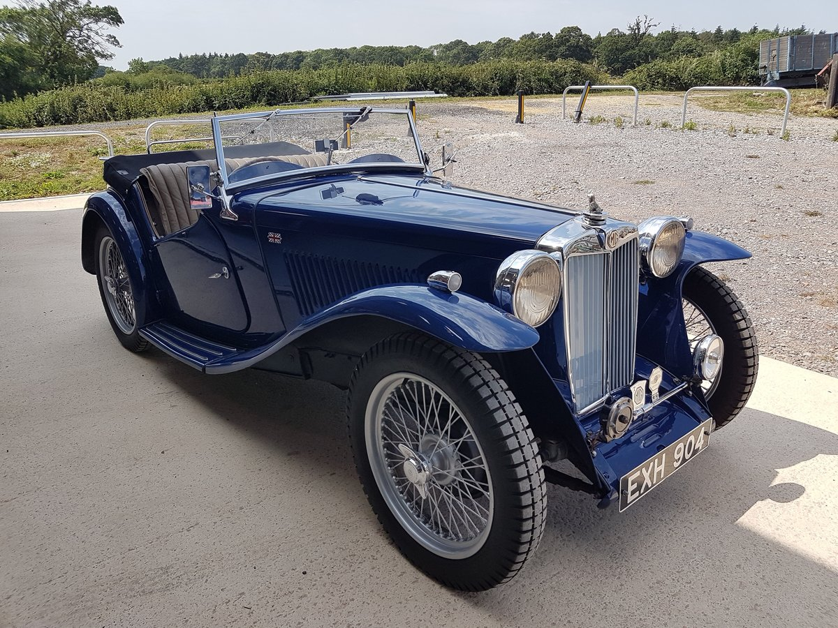 1938 MG TA Midget For Sale (picture 1 of 3)