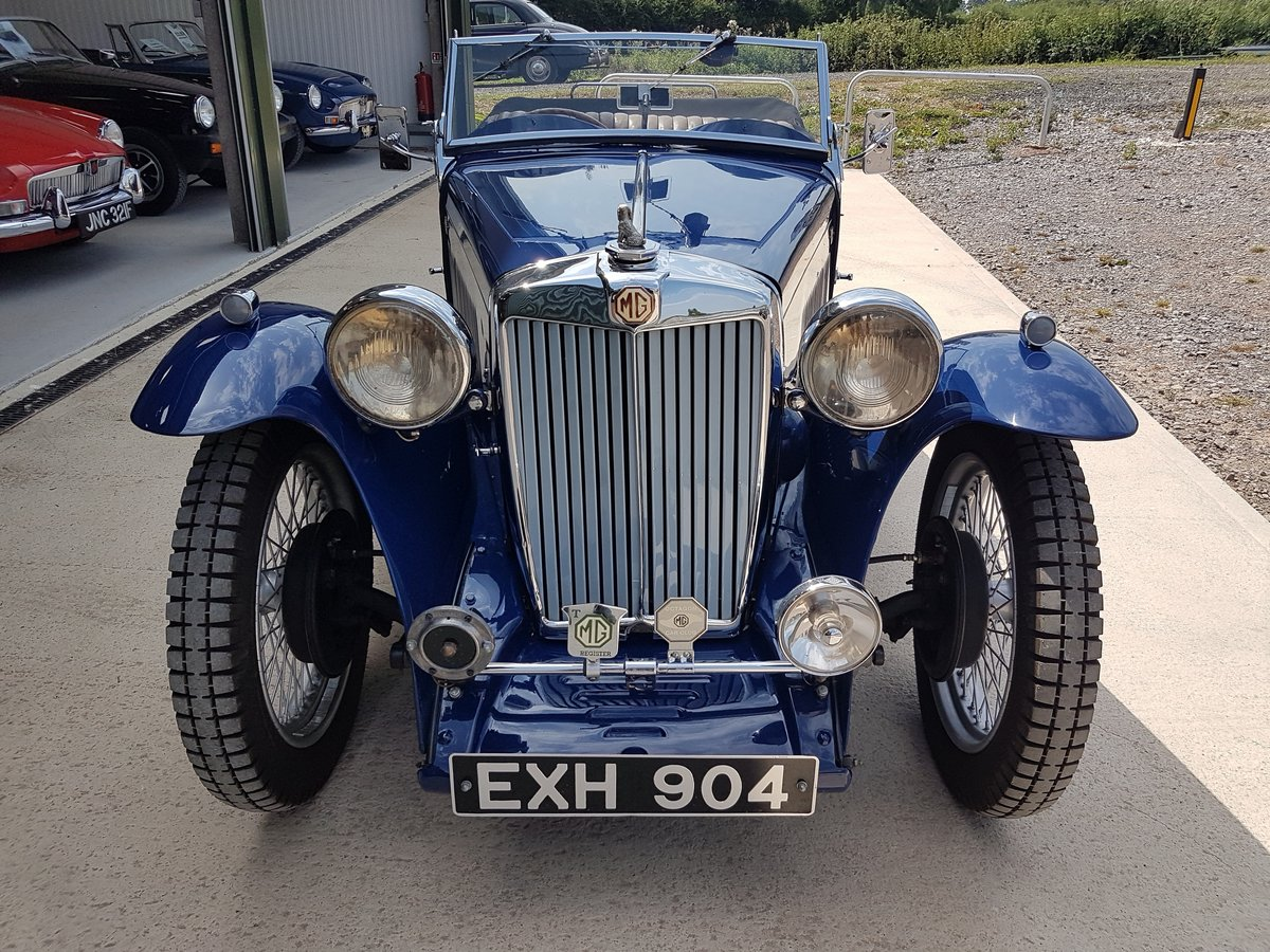 1938 MG TA Midget For Sale (picture 2 of 3)