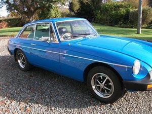 1981 MGB GT