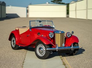 1953 MG TD Mark II = Full Restored Red Pebble Beach $26.5k For Sale