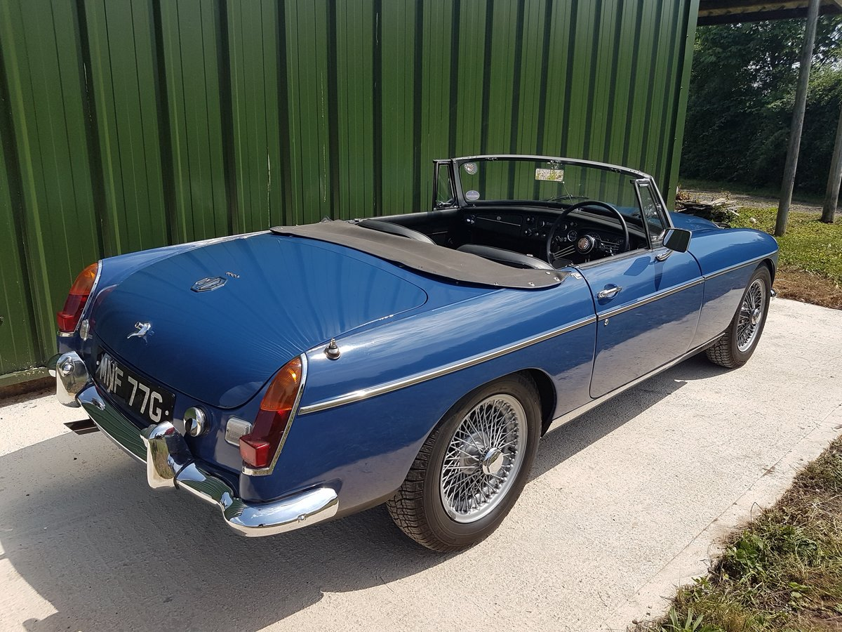 1969 MGC 2.9 ltr Roadster SOLD (picture 2 of 6)